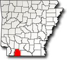 Columbia County, Arkansas Map